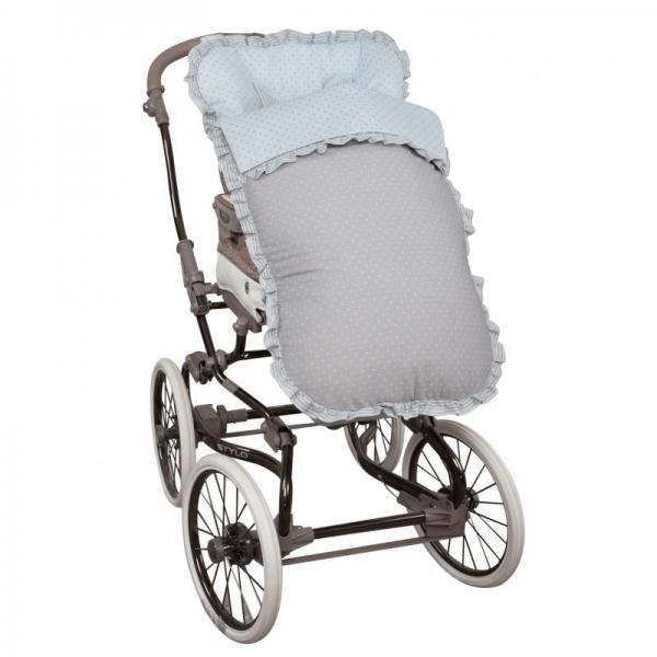 Saco de silla para Bugaboo Dots Celeste