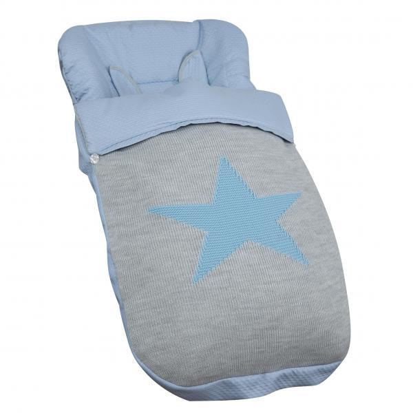 Saco de silla Bugaboo Snow Azul